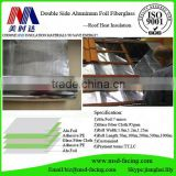 Double Side Aluminum Foil Fiberglass Insulation Facing