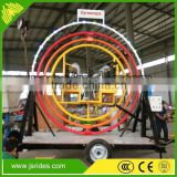 Cheap amusement rides for events mobile human gyroscope for sale