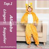wholesale pajamas cute worsted flannel animal pajamas cartoon pajamas bear kids pajama baby onesie baby onesie