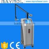 Chest Hair Removal Treat Telangiectasis 40W Glass Tube Eye Wrinkle / Bag Removal Acne Treatment Fractional CO2 Laser Equipment Age Spot Removal