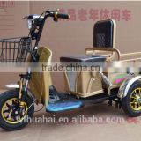 China Factory Export Three Wheel Electric Tricycle Cargo Bike 48V 500W