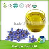 Pure Organic Borage Seed Oil with Rich Unsaturated Fatty Acids vegetable oil