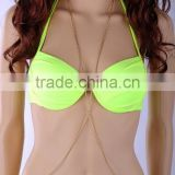 Sexy Women Bikini Beach Cross infinity pearl Belly Waist Chain Body Link Jewelry
