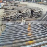 Carbon steel hot dipped bending u shaped channel steel for support