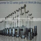 Hammer for DD series guide rod diesel pile driver