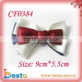 CF0384 New collection British style satin ribbon bow tie for garment accessories