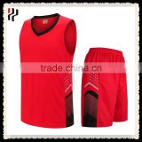Polyester Dry Fit Jersey and Short Club Logo and Name Reversible Custom Sublimation Training Basketball Uniform