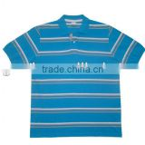 colourful stripe polo Tshirt directly from Garment factory
