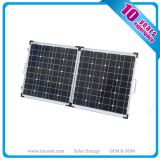 Folding Mono Solar Panels 100W 50W*2pcs with Bracket