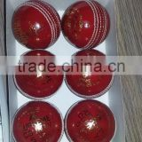 High quality Hot cricket Ball , with custom logo, Leather cricket ball