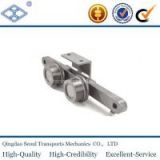 industrial 40T draw conveyor block style draw bench chain