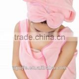 microfiber quickly drying hair hood