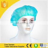 Disposable Hair Nets surgical non woven bouffant hospital cap PP/SMS