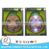 Hot sales party toys plastic fake pumpkin with light