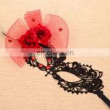 New Arrival Carnival Festival Italian Venetian Masks With Flower