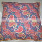 India Supplier 100% Cotton Stylish Colorful Cushion Cover