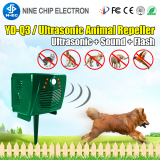 Motion activated Ultrasonic deer bear cat dog wild animal repeller for garden yard