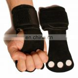 LEATHER PALM PROTECTORS GRIP HAND GUARDS