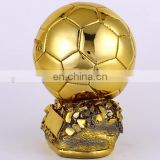 New design Gold Commemorative Golden Globe Cup - the Champions League