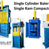 Single Ram Compactor or Single Cylinder Baler