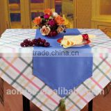 factory hot sale ployester satin table runner for wedding decoration dining table runner