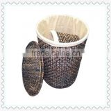 corn rope woven laundry storage baskets