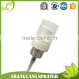 30mm foam bottle head foam pump for liquid hand soap and face wash