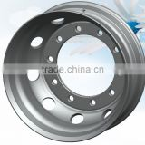 Factory commercial truck forged aluminum alloy wheel for tipping trailer rims