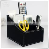 movable desk organizer wooden remote control holder for office