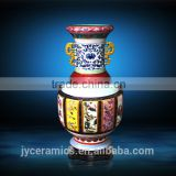 Ceramic Flower Vase Classical Blue and White Antique Porcelain Vase Jar for decorate home