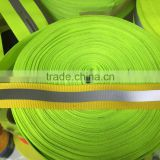 Hot sale high reflectivity fire resistant reflective webbing