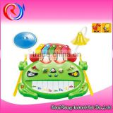 New products for 2015 plastic musical instrument electronic organ toys for children