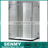 portable toilet and shower room&shower enclosure&shower cabin& Unique Wood Design 2 Big Size 900*1500/1700