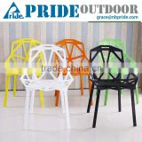 Wholesale Modern Colorful Stacking Dining Living Room Famous Design Pp Plastic Chair                                                                         Quality Choice