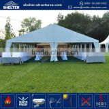 Top selling aluminum alloy frame tent 9x18 with tent accessories- air conditioners