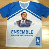 O-neck T shirt for campaign election