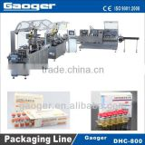 DHC-800 (Vertical loading) Ampoule Blister packing and cartoning packaging line/Vials Packing Machine
