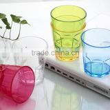 disposable plastic cup /acrylic plastic color cup