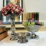 Street song Decoration home accessories living room table furnishings creative fashion suits modern glass fruit bowl