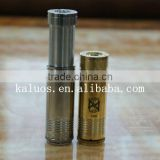 Electronic cigarettes mechanical mod battery tube SS and Brass Astro mod clone high quality astro mod