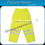 Hi-vis Safety Pant with reflective tapes , Fluorescent yellow