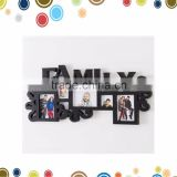 Wholesale family frame 2016 baby gift glass picture frame kit in wall