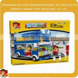 City double decker Bus Block Set large toy blocks
