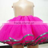 Wholesale beautiful tutu tulle ,chiffon dance tutu pettiskirt for girls