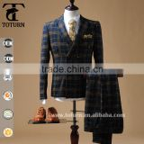 Hot sale style new design tuxedo men suit double breasted man suit excellent quality                                                                         Quality Choice