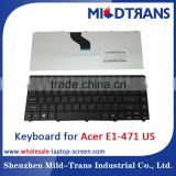 US layout laptop keyboard for acer e1-471