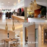 Swish Bamboo Plywood Plastic Nylon Clips Pendant lights north light lamp