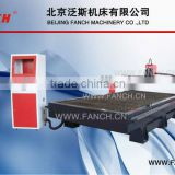 fanch cnc plasma metal cutter /USA plasma power / Heavy duty structure /Taiwan 25mm square rail /START controller and THC