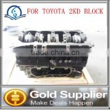 Brand New casting Cylinder block short block for Toyota 2kd with high quality as OEM and very very competitive price