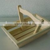 High Quality Stylish Elegant Folk Art Handmade Wooden Basket